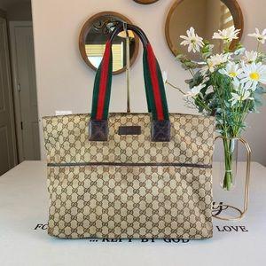 Gucci GG Logo Supreme large Totes Shoulder Bag